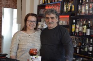 Inhaber Ioannis Tsagarakis & Ute Kirchgaessner - deutsch-griechische Sympathie