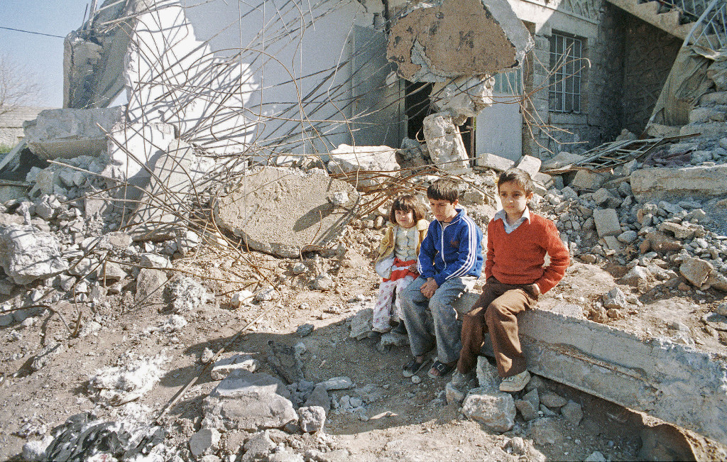 Bomben auf Bagdad