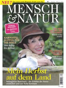 """Cover der aktuellen Ausgabe von """"Mensch & Natur"""""""
