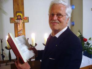 Am kommenden Sonntag, 23. März, betet Heinz Rußmann im Jazz-Gottesdienst in Karlshof.